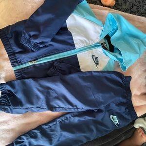 Blue Nike Track Suit